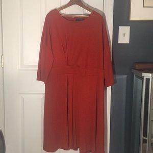 Lovely orange dress - full of possibilities!